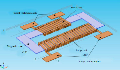 Design and Fabrication of a MEMS 3D Micro-transformer for Low