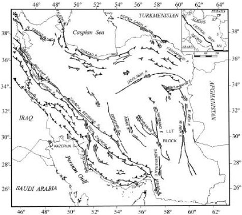 Tectonic Zoning Of Iran Based On Self Organizing Map Scialert