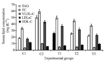 Image for - Hepatocyte Oxidative Stress Indicators of Carbon Tetrachloride Induced Hyperlipidemic Rats (Rattus norvegicus) Treated with Allium sativa Extract