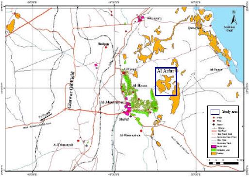 Image for - Soil, Water Chemistry and Sedimentological Studies of Al Asfar Evaporation Lake and its Inland Sabkha, Al Hassa Area, Saudi Arabia