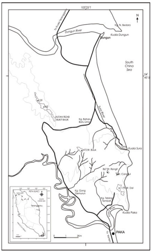 Image for - Characteristics of History, Morphology and Landform of the Dungun Area, Terengganu, Malaysia with Special Reference to Bukit Bauk
