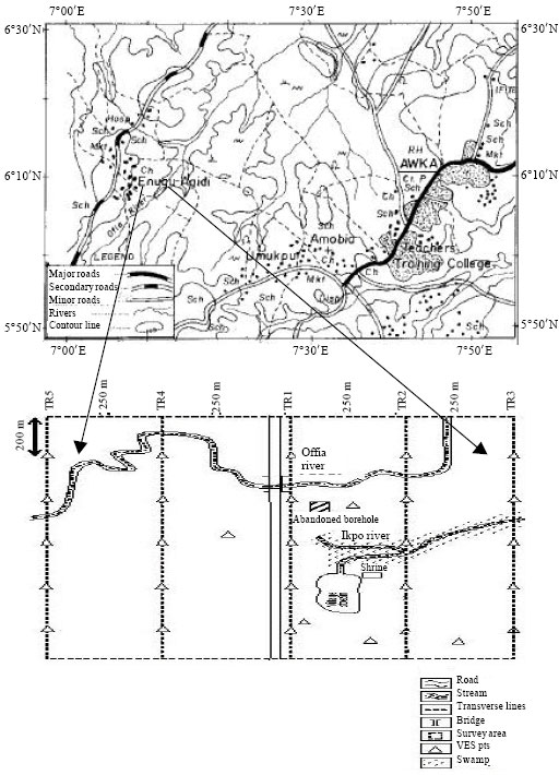 Image for - Evaluation of Aquifer Characteristics and Ground Water Potentials in Awka, South East Nigeria, Using Vertical Electrical Sounding