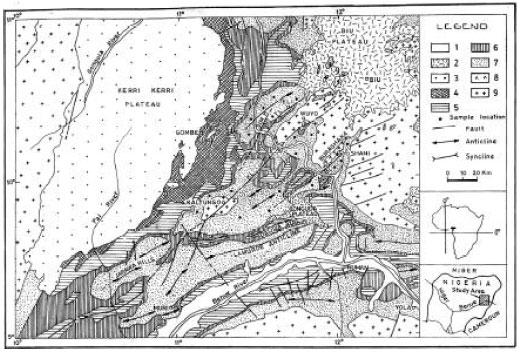 Image for - Evolution of Gongola Basin Upper Benue Trough Northeastern Nigeria
