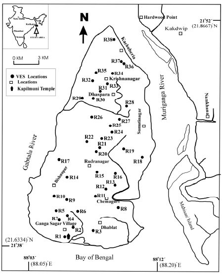 Image for - Hydrological Characterization and Estimation of Aquifer Properties from Electrical Sounding Data in Sagar Island Region, South 24 Parganas, West Bengal, India