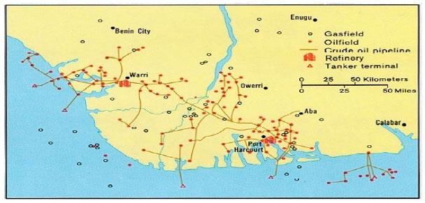 Image for - Radiogenic Heat Generation in the Crustal Rocks of the Niger Delta Basin, Nigeria