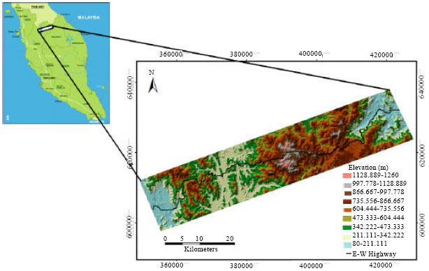 Image for - Analytical Hierarchy Process Method for Mapping Landslide Susceptibility to an Area along the E-W Highway (Gerik-Jeli), Malaysia