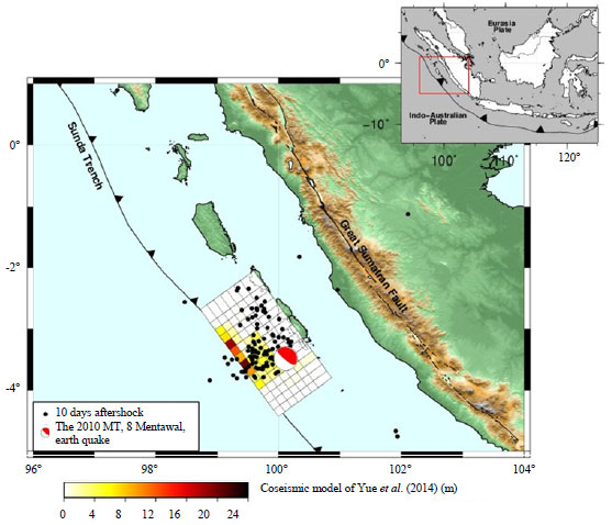 Image for - Postseismic Deformation Parameters of the 2010 M7.8 Mentawai, Indonesia, Earthquake Inferred from Continuous GPS Observations