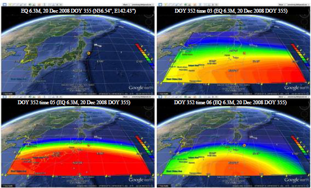 Image for - Analysis of Ionospheric Precursor of Earthquake using GIM-TEC, Kriging and Neural Network