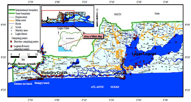 Image for - Factors Determining Benthic Foraminiferal Distribution in the Shallow Water Coastal Environments of Southwest Nigeria Sector of the Gulf of Guinea