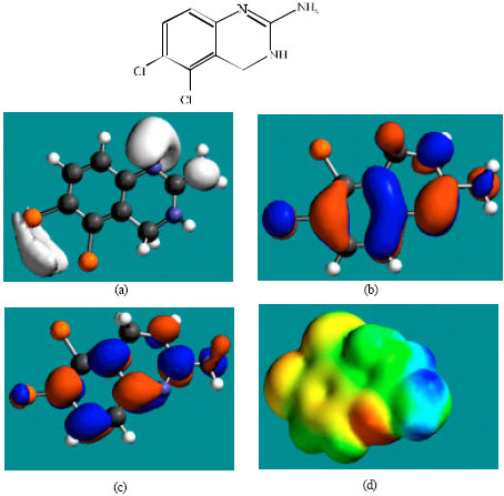 Image for - Molecular Modelling Analysis of the Metabolism of Anagrelide