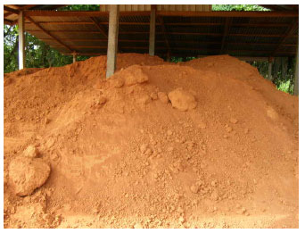 Image for - Reduced Soil Moisture in Producing Soil-Cement Brick for Construction Materials    Using Constructed Sieve, Housing Building and Drying in Open Air Methods