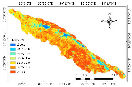 Image for - Response of Topsoil Features to the Seasonal Changes of Land Surface Temperature in the Arid Environment