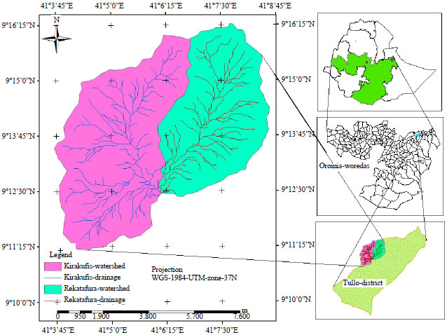Image for - Dynamics of Soil Physico-Chemical Properties in Area Closures at Hirna Watershed of West Hararghe Zone of Oromia Region, Ethiopia