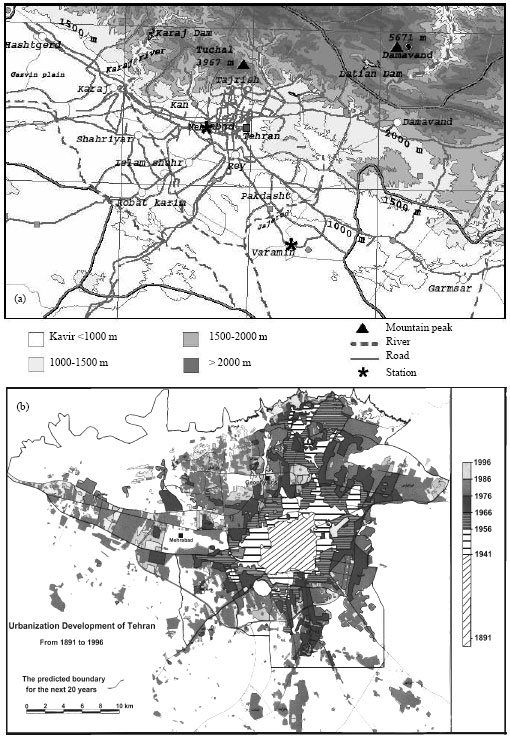 Image for - Urbanization Effects on Local Climate in Tehran Megapolis