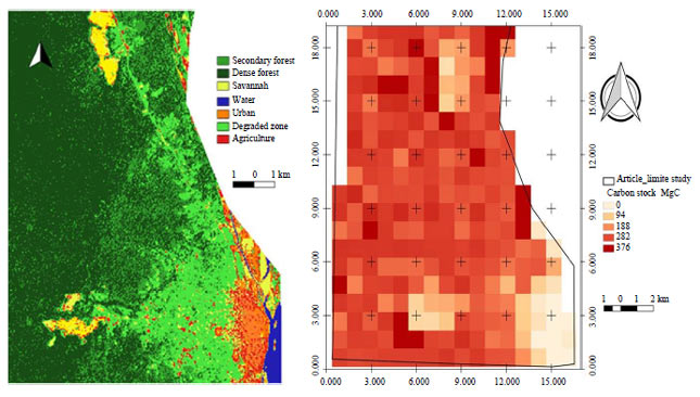 Image for - Field Validation of Land Cover and above Ground Carbon Mapping Using the Landsat OLI in Tropical Region