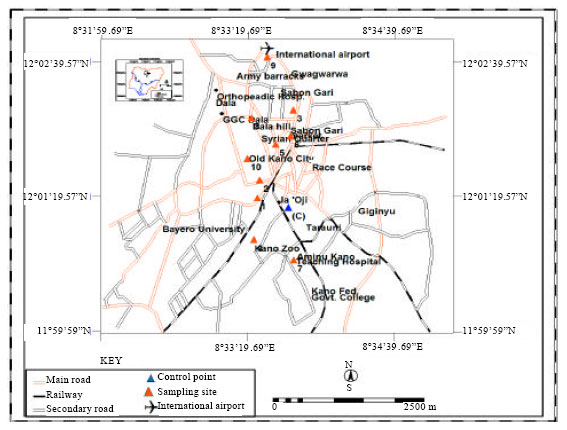 Image for - Metal Inter-relationship and its Mobility in Samples Collected along Roadside Corridors of Kano Metropolis, Nigeria