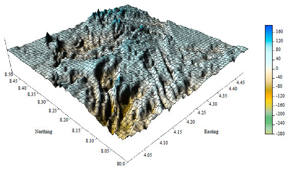 Image for - Application of Thin Sheet Model for the Analysis and Interpretation of Aeromagnetic    Data
