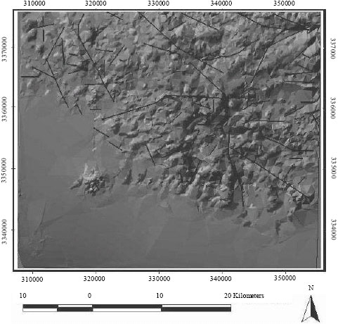 Image for - Spatial Association of Copper Mineralization and Faults/Fractures in Southern Part of Central Iranian Volcanic Belt