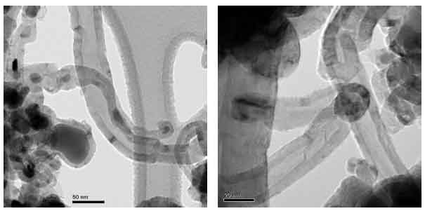 Image for - Synthesis of Large Carbon Nanotubes from Ferrocene: The Chemical Vapour Deposition Technique