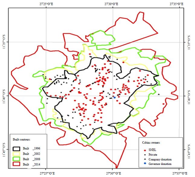 Image for - Spatial Distribution of Electrical Infrastructures: Impact of Urban Sprawl in Lubumbashi, DR Congo