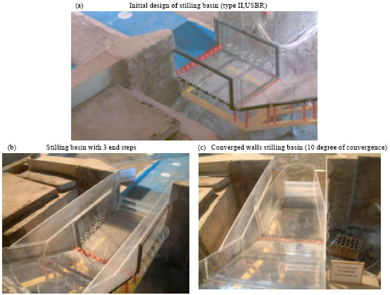Image for - Effect of Convergent Walls on Energy Dissipation in Stilling Basin by Physical Modeling
