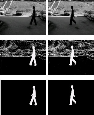Image for - Human Silhouette Extraction Using Background Modeling and Subtraction Techniques