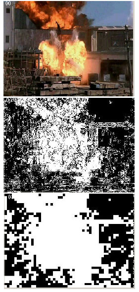 Image for - A Vector Quantization Based Automatic Fire Detection System