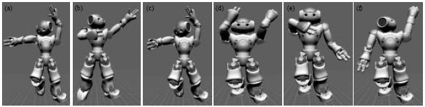 Image for - Study of Key Pose of Movement Similarity on Humanoid Robot