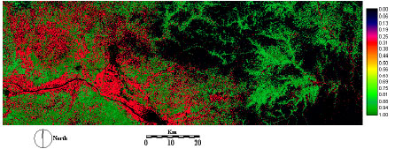 Image for - Soil Erosion Risk Prediction with RS and GIS for the Northwestern Part of Hebei Province, China