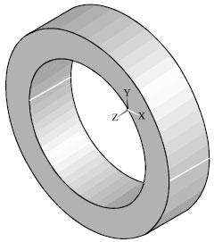 Image for - A Mathematical Model for Fiber Reinforced Hyperelastic Material and Results with Finite Element Method