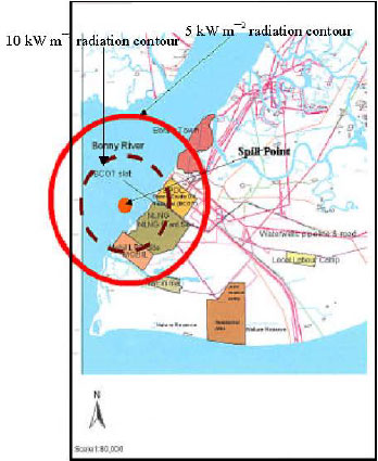 Image for - Predicted Impact of Spilled Liquefied Natural Gas from Nigeria Liquefied Natural Gas Plant on its Host Water Areas