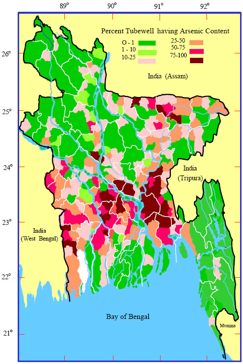 Image for - How Does Arsenic Contamination of Groundwater Causes Severity and Health Hazard in Bangladesh