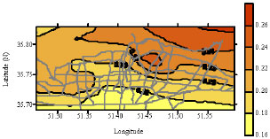 Image for - Uniform Hazard Spectra for Different Northern Part of Tehran, Iran