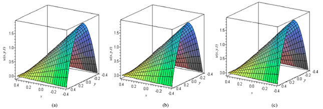 Image for - Analytical Solution of Time-Dependent Non-Linear Partial Differential Equations Using HAM, HPM and VIM