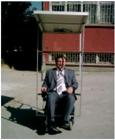 Image for - A Wheelchair Driven with Fuzzy Logic Controlled Switched Reluctance Motor Supplied by PV Arrays