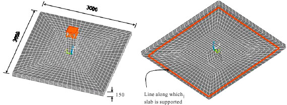 Image for - Numerical Analysis of Slab-Column Connections Strengthened with  Carbon Fiber Reinforced Polymers