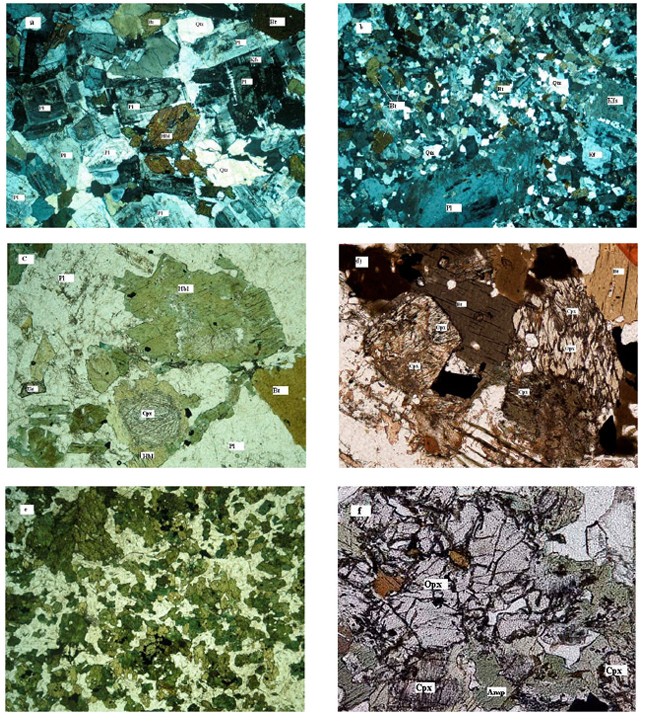 Image for - Estimation of Pressure and Temperature of Intrusive Rocks Crystallisation: A Case Study of Naqadeh, Pasveh and Delkeh Plutons, W Iran