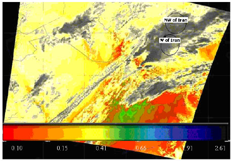 Image for - MODIS and Determination the Threshold of Cloud Seeding in Kermanshah