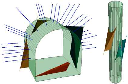 Image for - 3D Numerical Modeling of a Couple of Power Intake Shafts and Head          Race Tunnels at Vicinity of a Rock Slope in Siah Bishe Pumped Storage          Dam, North of Iran