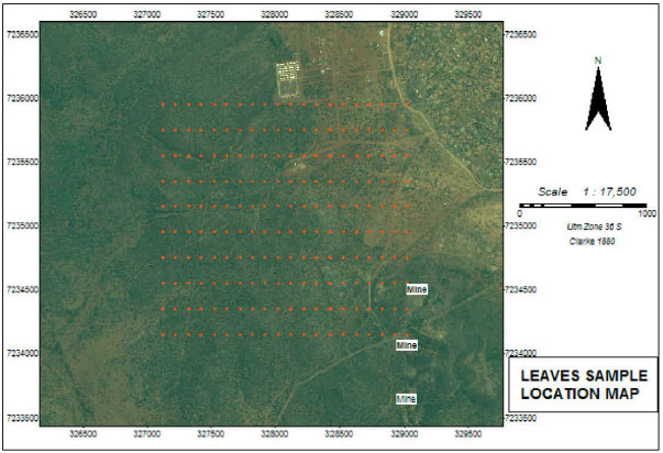 Image for - Spatial Distribution of Iron in Soils and Vegetation Cover Close to an Abandoned Manganese Oxide Ore Mine, Botswana