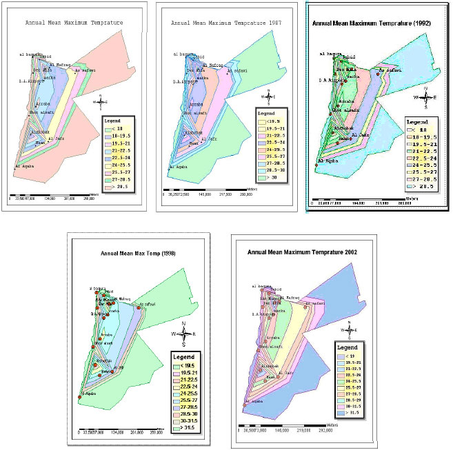 Image for - Predicting the Impact of Global Warming on the Middle East Region: Case Study on Hashemite Kingdom of Jordan Using the Application of Geographical Information System