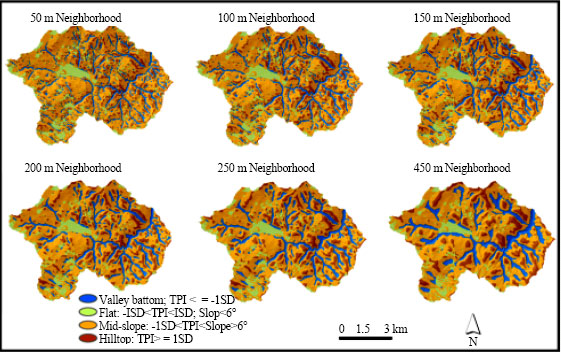 Image for - GIS-Based Automated Landform Classification and Topographic, Landcover and Geologic Attributes of Landforms Around the Yazoren Polje, Turkey