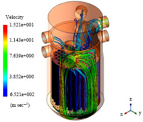 Image for - CFD-Calculation of Fluid Flow in VVER-1000 Reactors