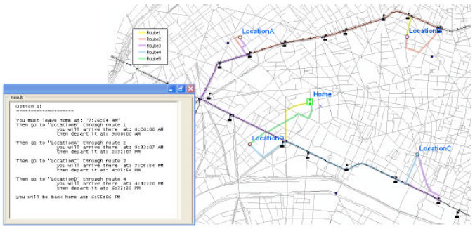 Image for - Travel Itinerary Planning in Public Transportation Network Using Activity-Based Modeling