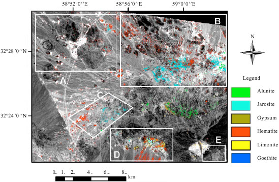 Image for - Hydrothermal Alteration Mapping in SW Birjand, Iran, Using the Advanced          Spaceborne Thermal Emission and Reflection Radiometer (ASTER) Image Processing