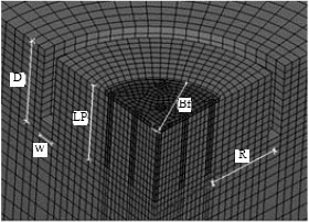 Image for - Three Dimensional Analysis of Active Isolation of Deep Foundations by Open Rectangular Trenches
