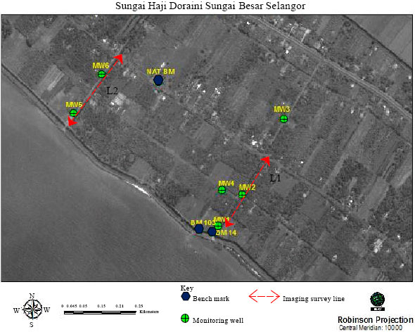 Image for - Electrical Imaging Resistivity Study at the Coastal Area of Sungai Besar, Selangor, Malaysia