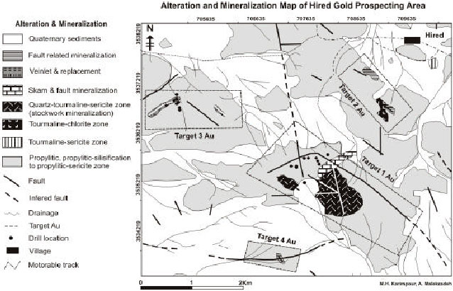Image for - Petrochemistry of the Reduced, Ilmenite-Series Granitoid Intrusion          Related to the Hired Gold-Tin Prospect (Basiran), Eastern Iran