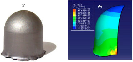 Image for - Experimental and Numerical Analysis for Hydroforming of Ti6Al4V Alloy Used in Aerospace, Assisted by Floating Disk