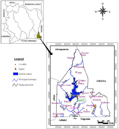 Image for - Assessment of the Groundwater Potential Zone in Hard Rock through the Application of GIS: The Case of Aboisso Area (South-East of Cote d'ivoire)